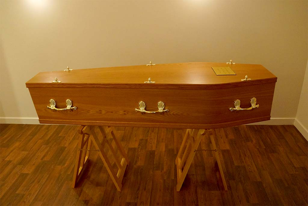 Elm Coffin