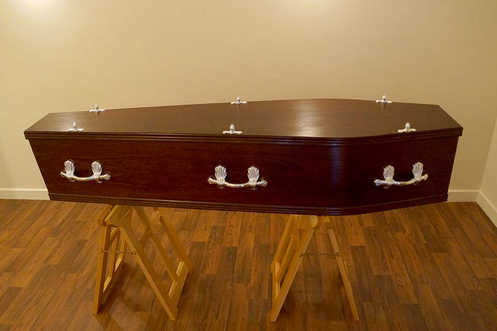 Mahogany Coffin