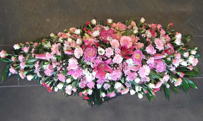 Classic Spray Funeral Flowers