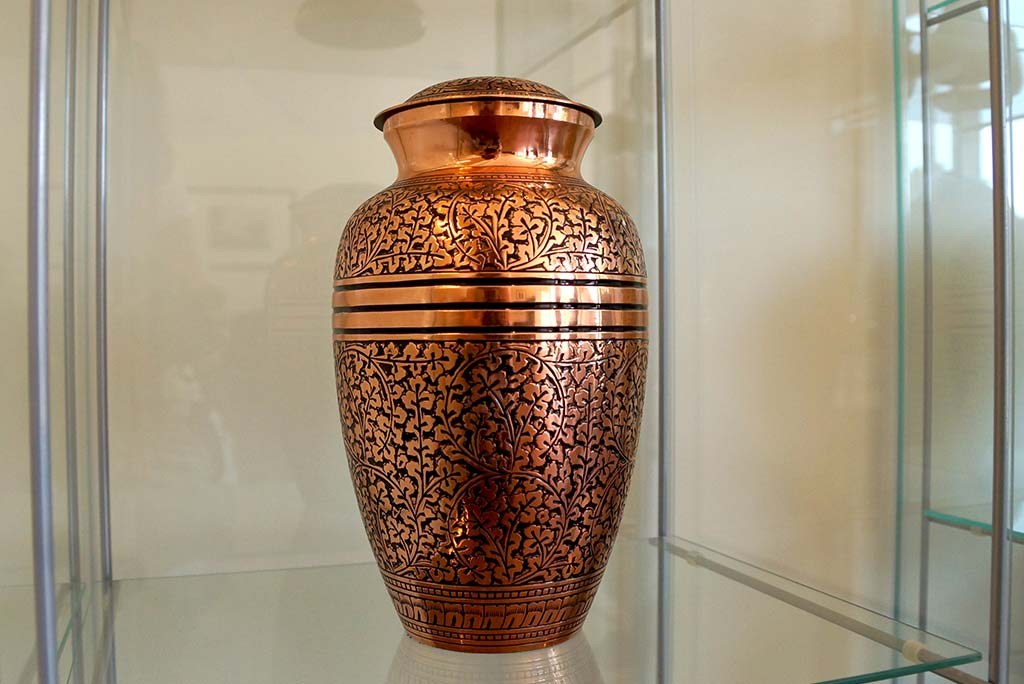 Copper Urn