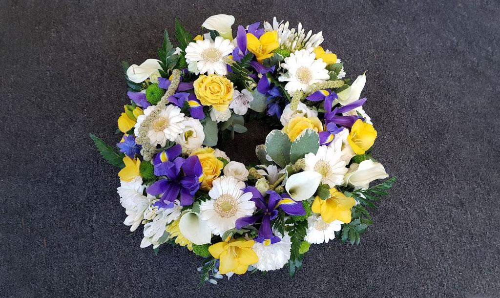 Wreath Funeral Flowers