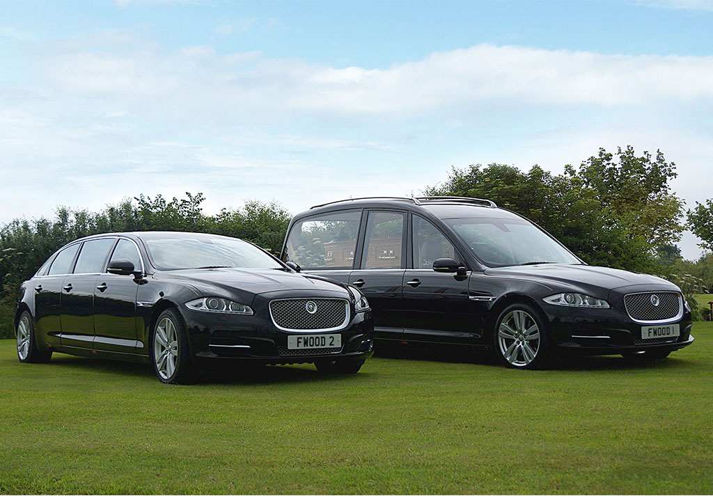 Funeral hearses and limonsines