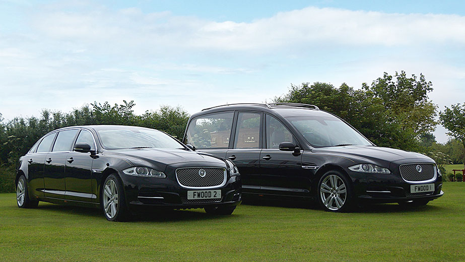 Hearses and accompanying vehicles from our Bristol Funeral Directors