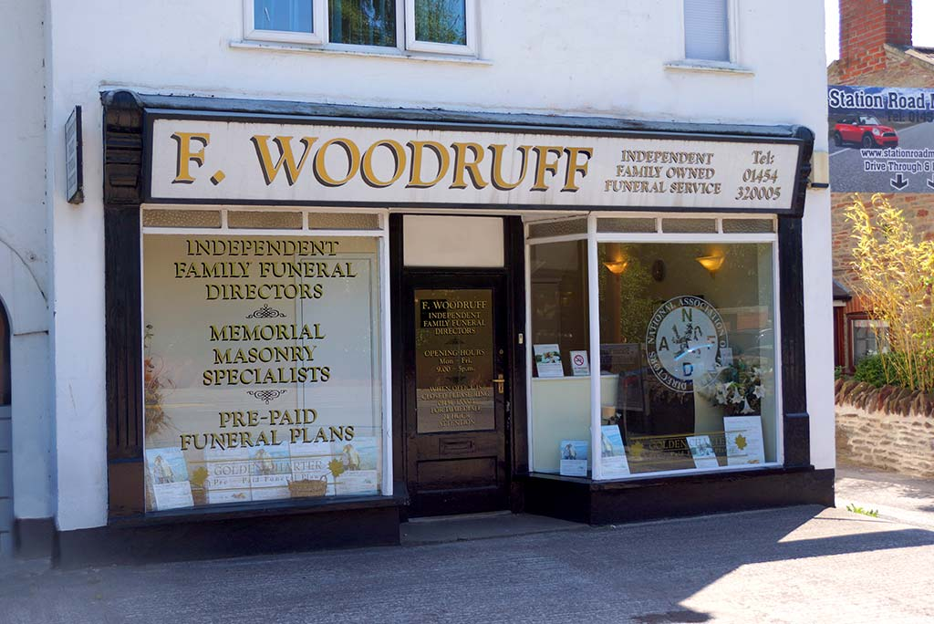 Outside this Yate, Bristol Funeral Directors